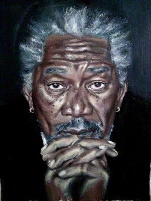 Morgan Freeman par valib